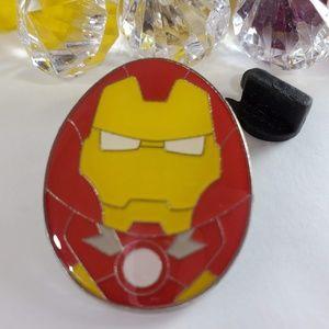 4/$25 Disney Egg Shaped Iron Man Pin